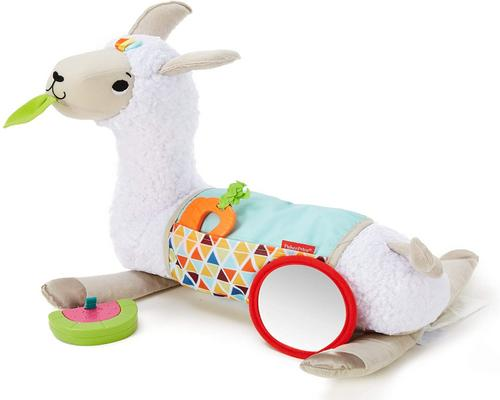 A Fisher-Price Toy My Plush Llama Cushion With 3 Removable