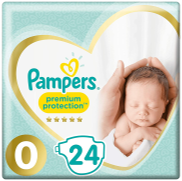 <notranslate>a Pampers Premium Size 0 Windel</notranslate>