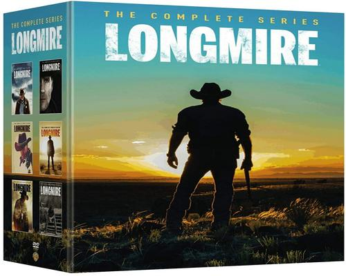 a Movie Longmire Complete Series Collection Seasons 1-6 Dvd Season 1 2 3 4 5 6 - 1-5 + 6