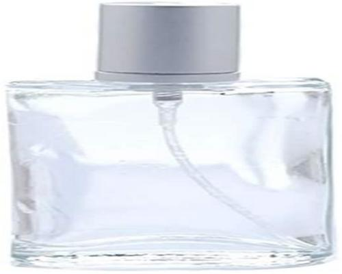 One 50 Ml Clear Glass Bottle