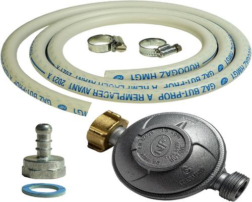 a Proweltek Regulator 37600120106866 Connection Kit 1,50M + Teat + Butane Holder