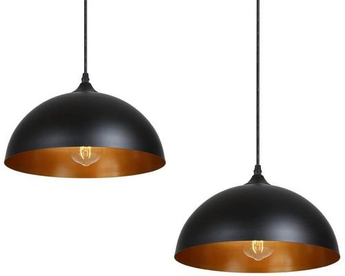 an Industrial Pendant Light 2 Pack, Tomshine Metal Retro