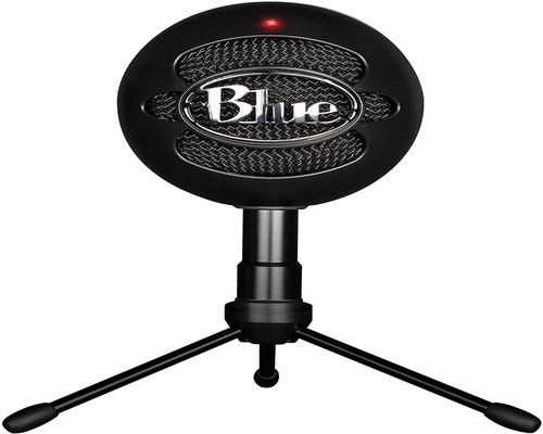 a Micro Pc Blue Snowball Ice Cardioid Condenser