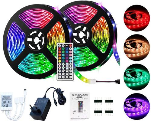 μια λωρίδα Led Lseeka 5 / 10M Led Strip 5050 Rgb