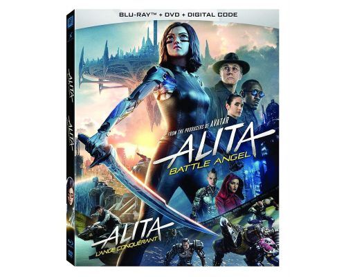 <notranslate>An Alita Battle Angel Blu-ray</notranslate>