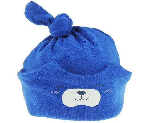 A Blue Baby Bear Hat