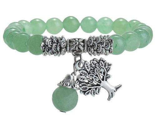 A Stone Bracelet Lithotherapy Tree of Life