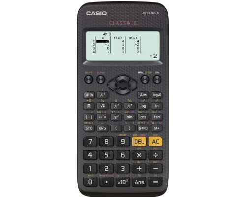 Une Calculatrice Scientifique Casio Fx-83gtx