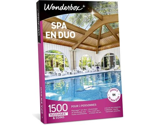 Ett DUO Wonderbox SPA-set