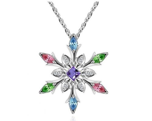 Un Collier Flocon de Neige