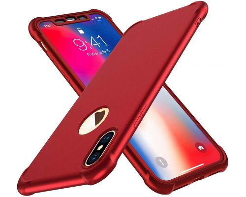 Une Coque iPhone X/XS Rouge