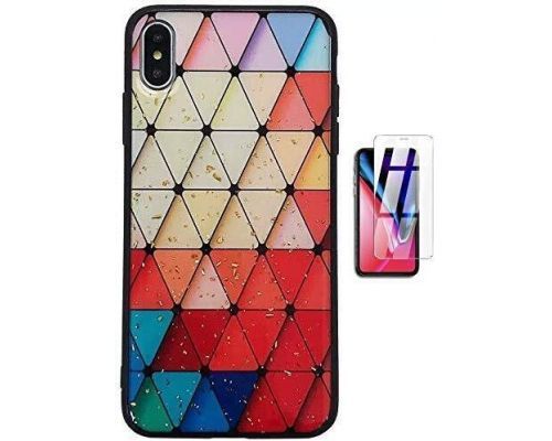 Une Coque Silicone Iphone XR Multicolor