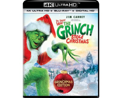 A Dr. Seuss' How The Grinch Stole Christmas Bluray