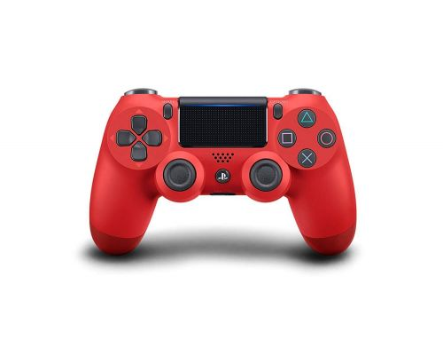 A DualShock 4 Magma Red Controller
