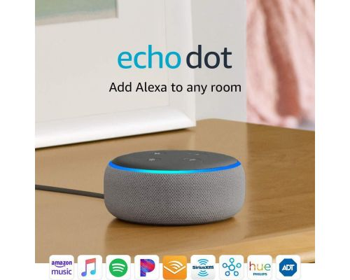 An Echo Dot 3rd Gen