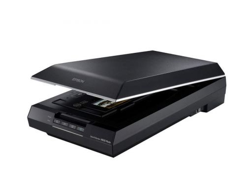 An Epson Perfection V600 Scanner Corded