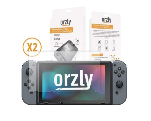 A Glass Screen Protectors compatible with Nintendo Switch