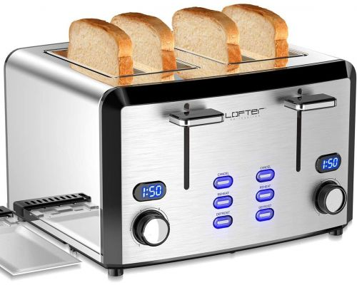 A 4 slice toaster