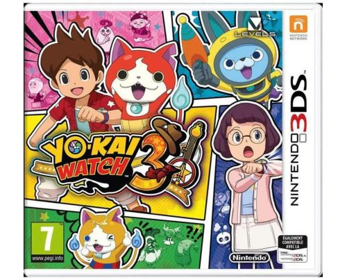 Un Jeu Nintendo 3DS Yo-kai Watch 3                                                                                                                        +
