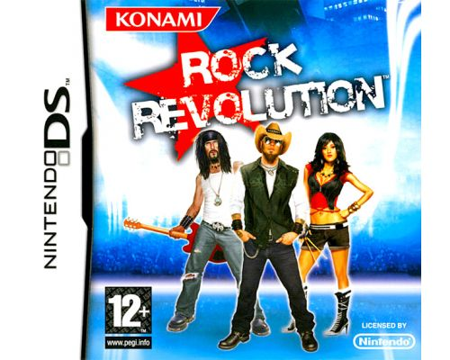 the DS Rock Revolution Game