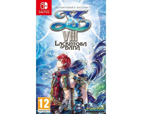 Un Jeu Nintendo Switch Ys VIII Lacrimosa of DANA