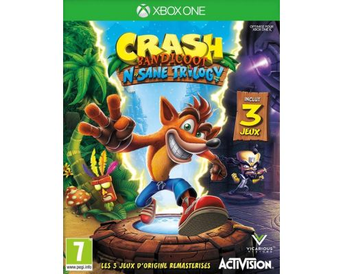 un Jeu Xbox One Crash Bandicoot N.Sane Trilogy