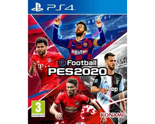 A PS4 Efootball Pes 2020 Game
