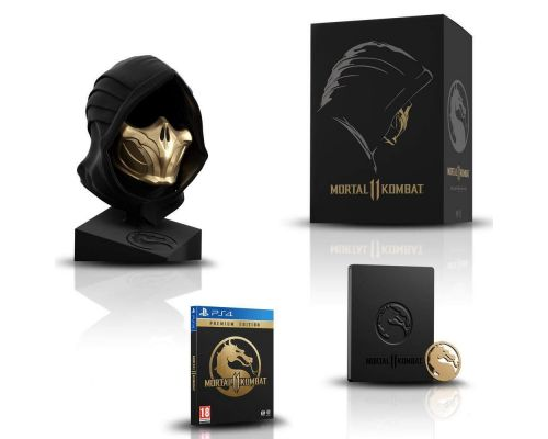 Un Jeu PS4 Mortal Kombat 11 - Edition Collector