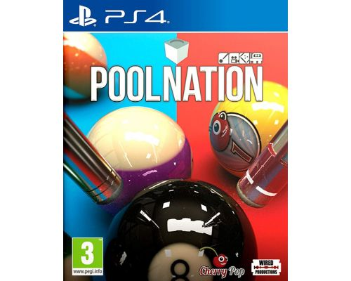 A PS4 Pool Nation Game