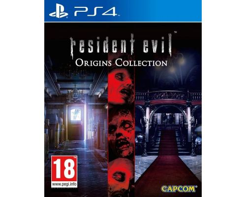 Un Jeu PS4 Resident Evil Origins Collection