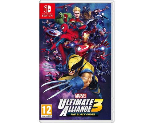 Un Jeu Switch Marvel Ultimate Alliance 3 : The Black Order                                                                                                                        ++