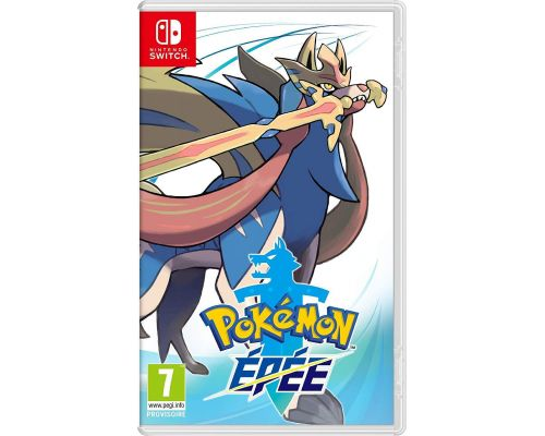 Un Jeu Switch Pokémon Epée