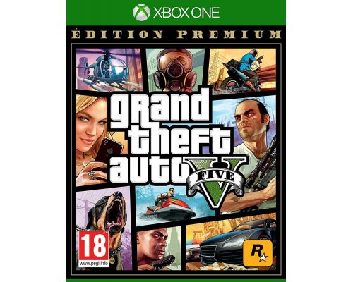Un Jeu Xbox One GTA V - Edition Premium
