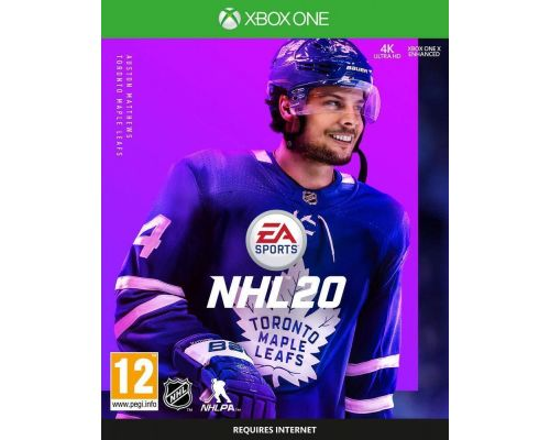 An Xbox One NHL 20 Game