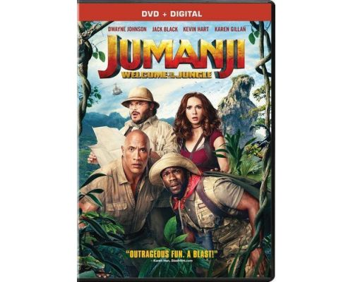 <notranslate>A Jumanji: Welcome to the Jungle DVD</notranslate>