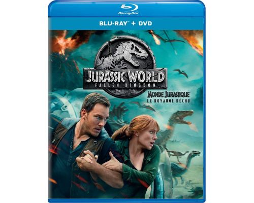 A Jurassic World: Fallen Kingdom BluRay + DVD