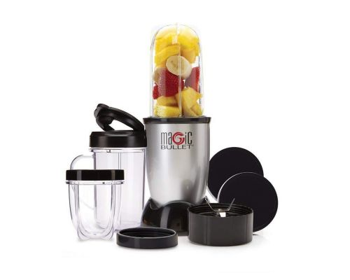 A Magic Bullet Blender, Silver