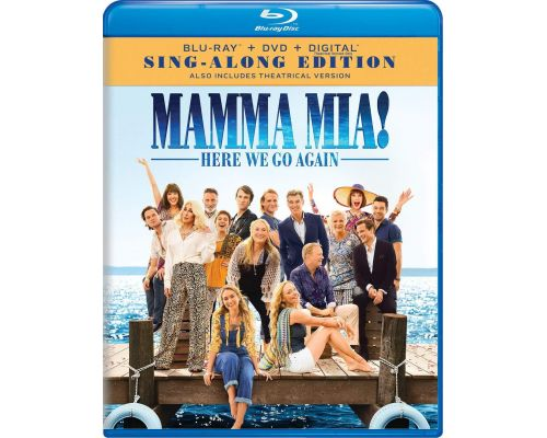 A Mamma Mia! Here We Go Again Blu-Ray