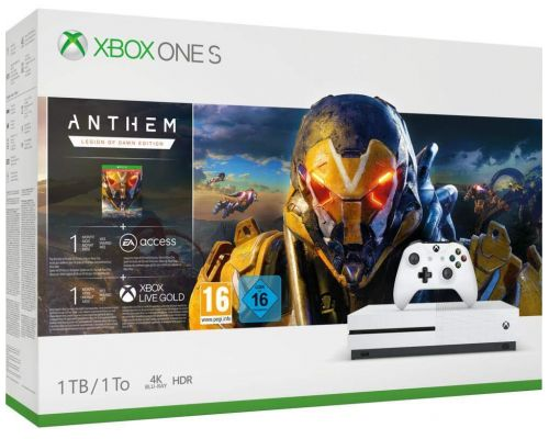 Un Pack Xbox One S 1 To Anthem