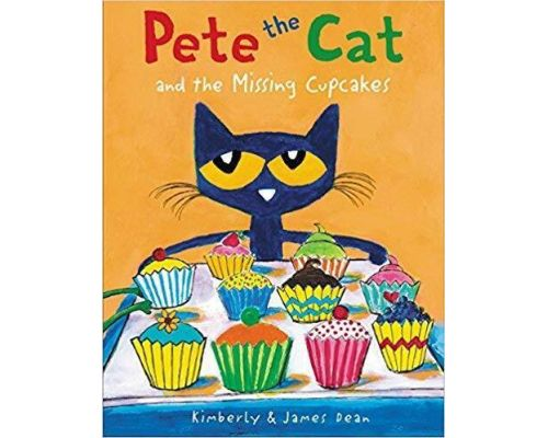 A Pete the Cat and the Missing Cupcakes Book