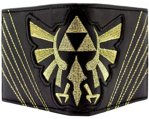 A Zelda Triforce Stitched Wallet