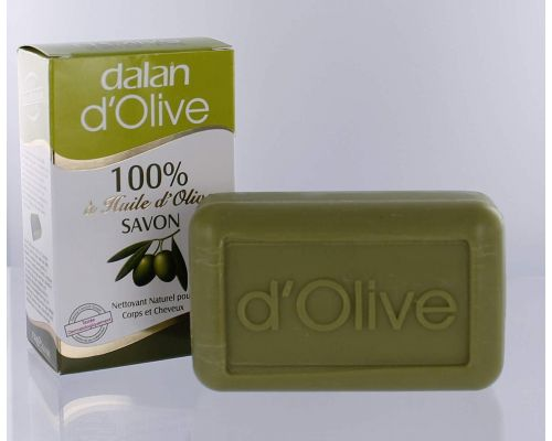A 100% Olive Oil solid soap
