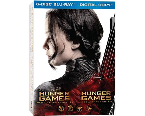 A Set Box BluRay The Hunger Games