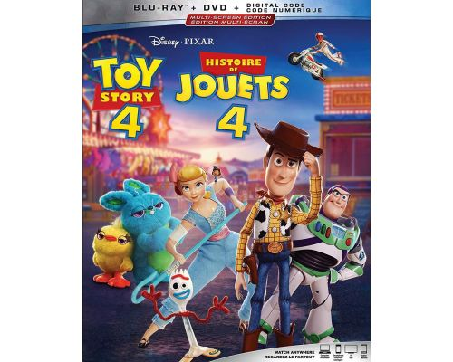 A Toy Story 4 Blu-ray