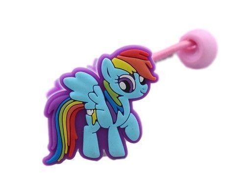an elastic My Little Pony Rainbow Dash