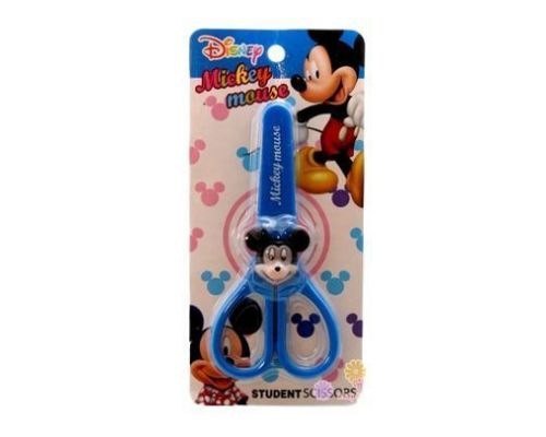 a Pair of Blue Mickey Mouse Scissors