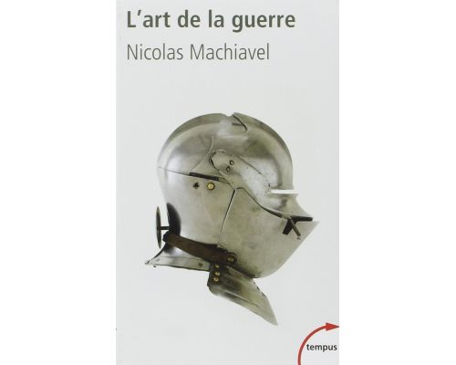 A book The art of war by Nicolas MACHIAVEL