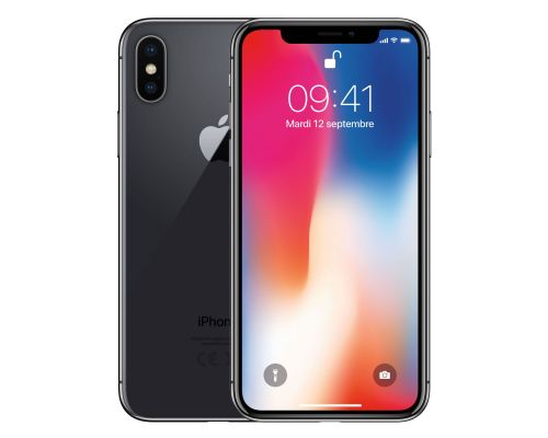 Un iPhone X Gris Sideral 256 Go